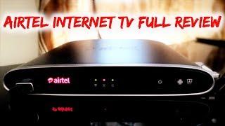 Airtel Internet TV setup box Full Review
