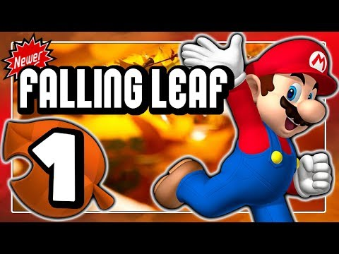NEWER FALLING LEAF Part 1: New Super Mario Bros. Wii Hack mit herbstlichem Flair