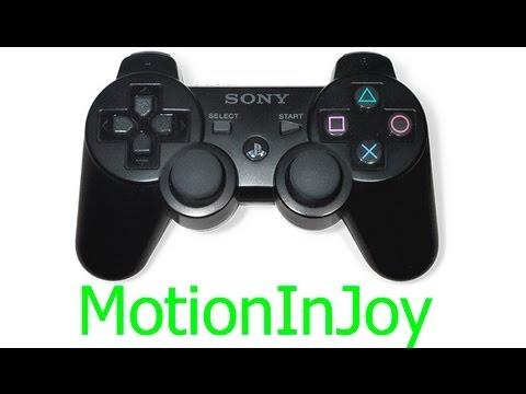 MotionInJoy | Подключение SONY Dualshock 3 к ПК по USB (RUS)(HD)