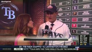 Nick Ciuffo is drafted by Tampa Bay Rays
