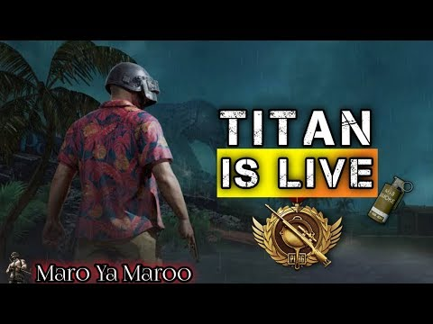 pubg-mobile-live-streaming-with-titans-|-full-rush-&-road-to-1k-|-maroo-ya-maro-#chill