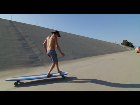 Hamboards the big huge longboard skateboard on shark tank for Shark tank motorized skates