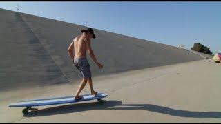 Hamboards The Big Huge Longboard Skateboard On Shark Tank