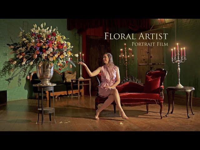 Mona Isabelle – Floral Artist (Portrait Ad)