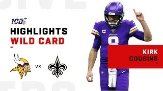Kirk Cousins LIKES That | NFL 2019 Highlights