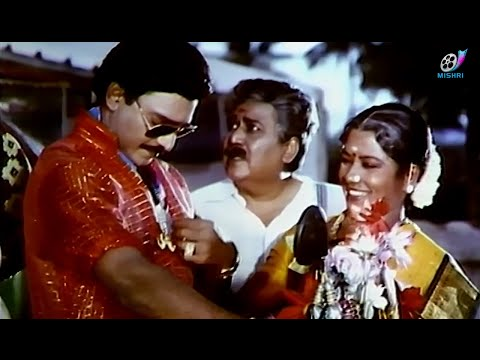 SUPER COMEDY SCENE | Bhagyaraj getting Out for Work | Rasukutti | Manorama |Tamil