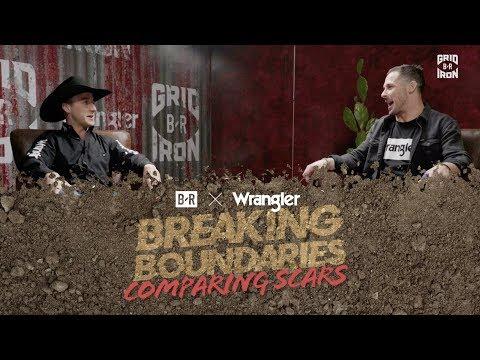 Danny Amendola and Champion Bull Rider Sage Kimzey Swap Stories And Compare Scars