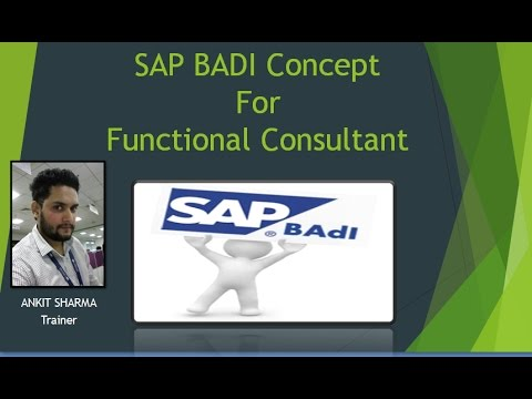 SAP BADI Implementation Learning for Functional Consultant