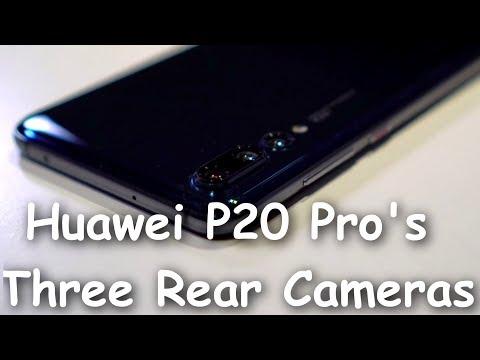 Huawei P20 Pro's Three rear cameras trumps rival phones.