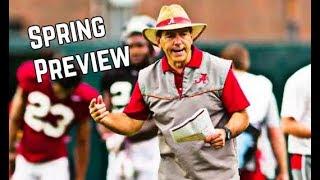 Alabama Football Spring Preview