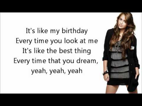 Miley Cyrus- Dream (Lyrics)