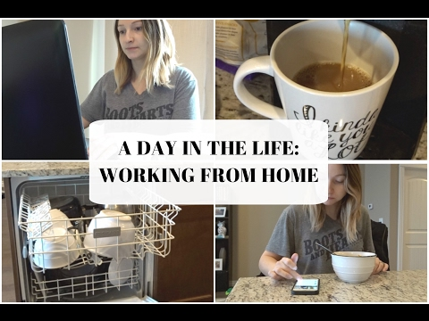 A DAY IN THE LIFE: WORKING FROM HOME | PREGNANCY EDITION