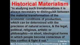 3 What is Historical Materialism?