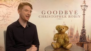 Domhnall Gleeson on being A.A. Milne in Goodbye Christopher Robin