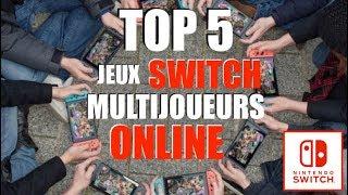 NINTENDO SWITCH | TOP 5 JEUX SWITCH MULTIJOUEURS ONLINE !