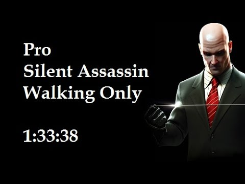 Hitman Blood Money - Walking Only - PRO/SA Speedrun In 1:33:38