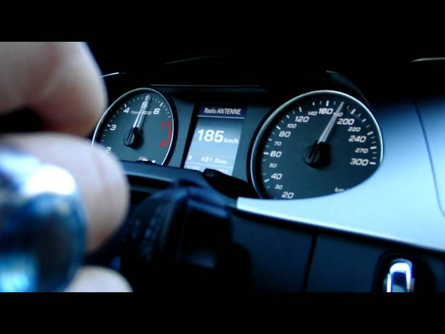 Audi S4 3.0 V6 acceleration