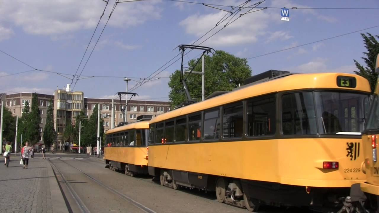 1a52b5d1ad63e9 Trams in Dresden