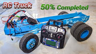 RC Truck 1/10 scale 50% completed