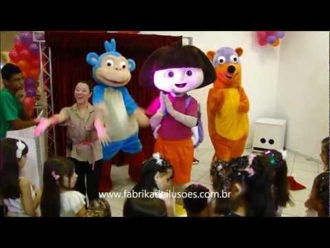 Show Dora Aventureira Fabrika de Ilusões 11-20635487/ 11 99337-4508