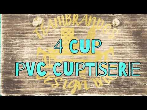 4 Cup PVC Cuptisserie