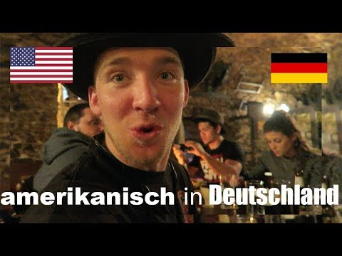 AMERICANS eat dinner AT A GERMAN CASTLE! (Germany Vlog)