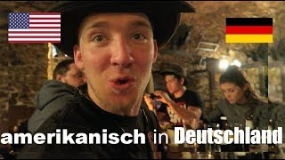 AMERICANS eat dinner AT A GERMAN CASTLE! (Germany Vlog)