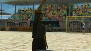 Pro Beach Soccer (AKA Ultimate Beach Soccer) Xbox Gameplay