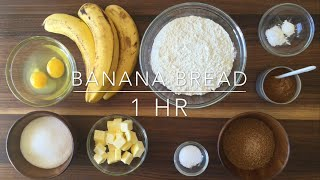 How To Make Spongy Banana Cake
