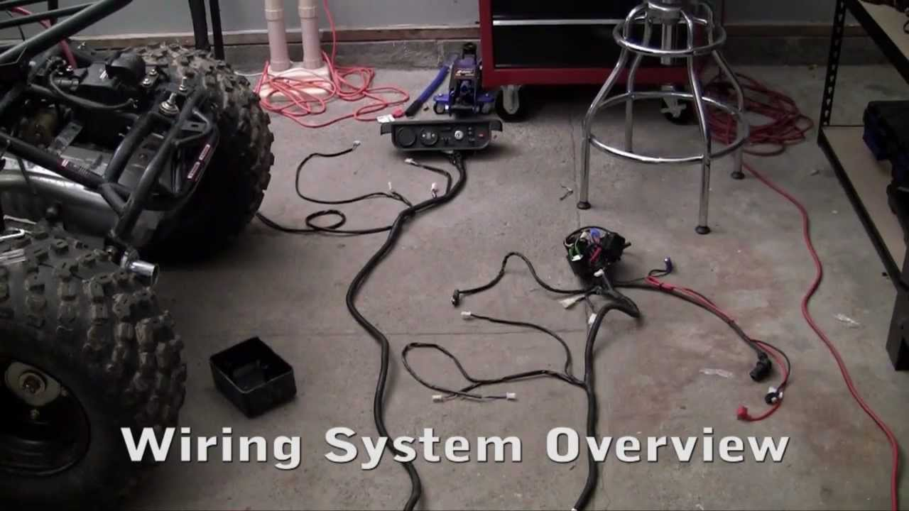 how to build a go kart 23 wiring overview youtube  kandi 110 go kart wiring diagram #49