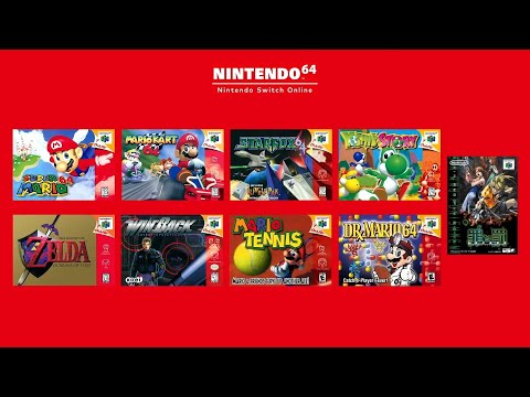 Nintendo 64 + Sega Genesis - Coming to NSO + N64 Controller Revealed (Expansion Pass)