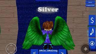 ROBLOX ninja warrior rewind (getting silver)