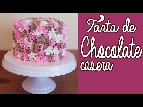 Tarta casera de chocolate recetas de pasteles caseros - Decoracion cumpleanos infantil casera ...