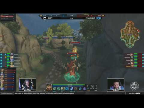 SWC 2017 - Semifinals Obey Alliance vs. Team Eager Game 1