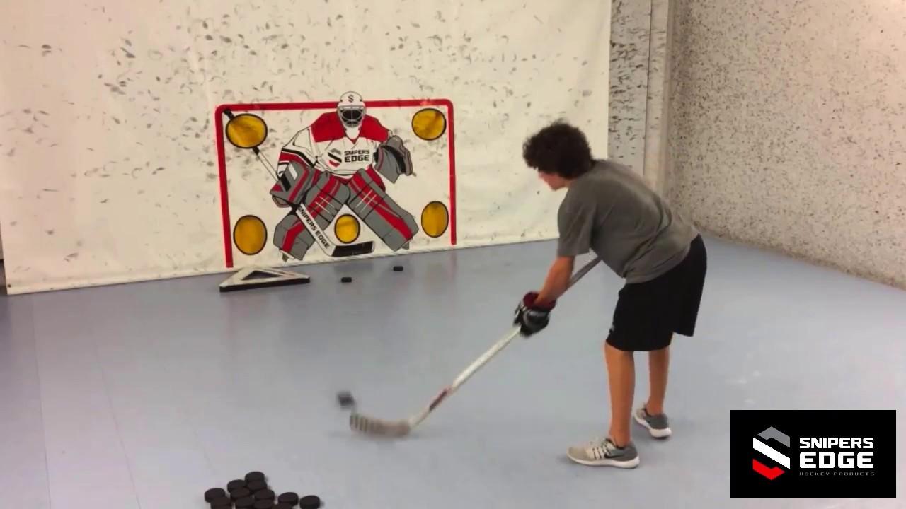 Snipers Edge Hockey Slick Tiles Flooring Highlights Youtube