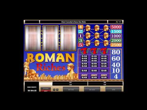 Roman Riches Slots - Bitcoin Casino Games