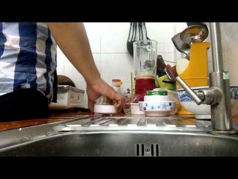 Cách Làm Sữa Chua Đá Ngon Bổ ( Hiếukuppj )