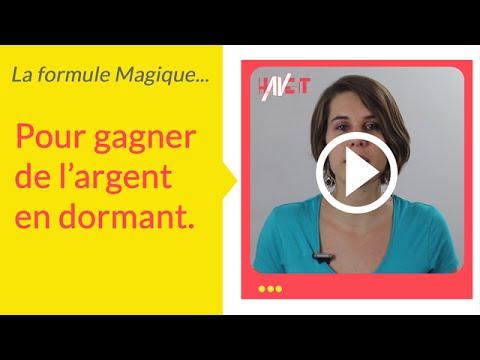 """Souvent La formule magique pour gagner de l'argent """"en dormant"""" - YouTube HZ15"""