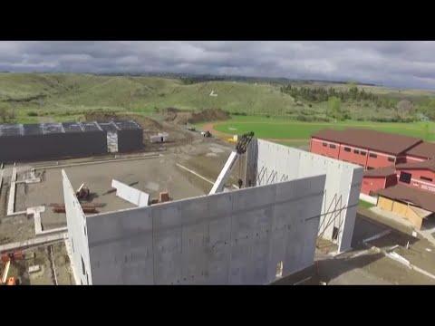 Lockwood high school construction underway