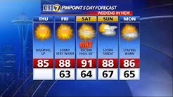 Morgan Palmer's Seattle Forecast - June 25, 2015