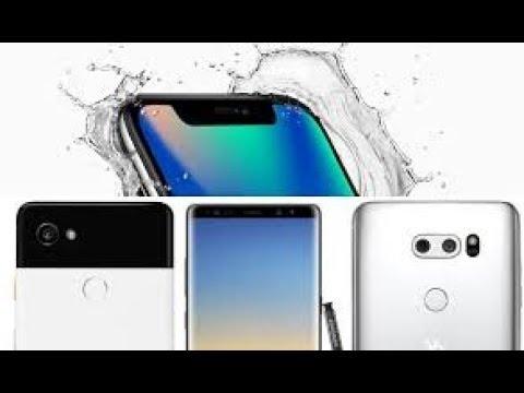 HTC U11 Vs NOTE 8 IPhone X Pixel 2 XL 2018