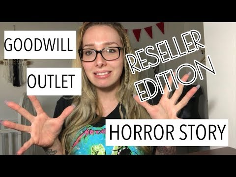 Why I Stopped Going To Goodwill Outlets - Goodwill Bins & Reselling Clothes Online