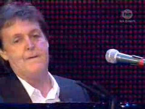 Paul McCartney - The Long and Winding Road live8