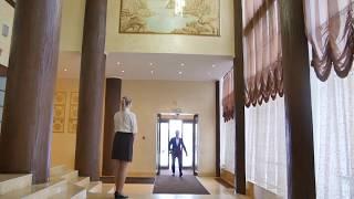 RASSTAL SPA hotel. Встреча в холле