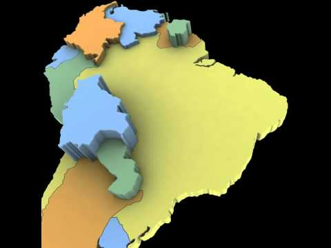 3d Map Of South America.3d Model Of South America Map Review