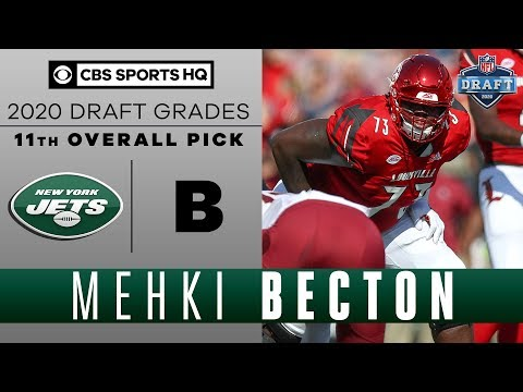 The New York Jets Get A FREAK ATHLETE 11th Overall In Mekhi Becton | 2020 NFL Draft