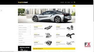 Auto Parts Responsive OpenCart Template TMT Jackie Moacir