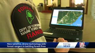 New technology helps crews fight forest fires