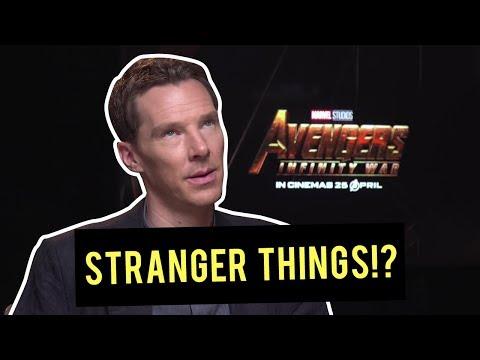 Exclusive  with Benedict Cumberbatch Dr Strange??  AVENGERS INFINITY WARS NO SPOILERS