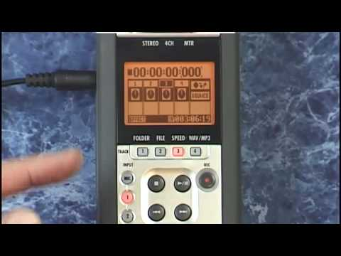 Zoom H4n Tutorial Review recording with the metronome and overdubbing